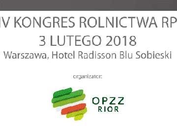 BioAgris wspiera kongres rolnictwa RP