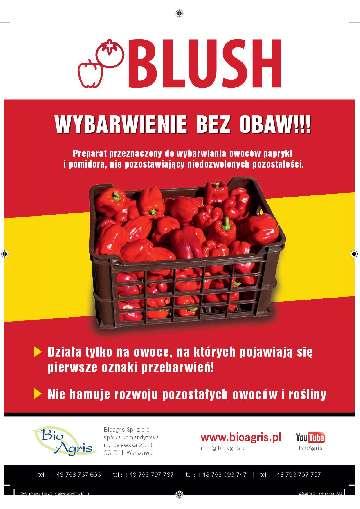 Wybarwianie papryki i pomidorów