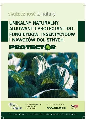 Naturalny adiuwant protectant do fungicydów insektycdów nawozów dolistnych