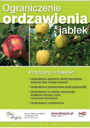 Program przeciwko ordzawieniu jabłek.