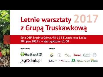 Letnie Warsztaty z Grupą Truskawkową.